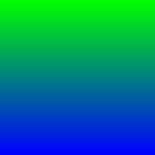 Green/ Blue
